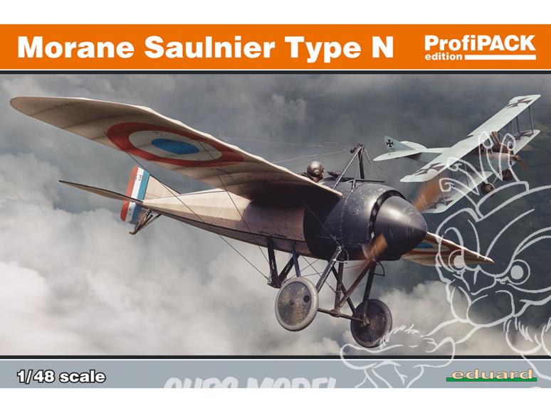 EDUARD maquette avion 8095 Morane Saulnier Type N ProfiPack Edition 1/48