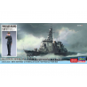 Hasegawa maquette bateau 52252 JMSDF Myoukou avec figurine de Force d'autodéfense féminine 1/700