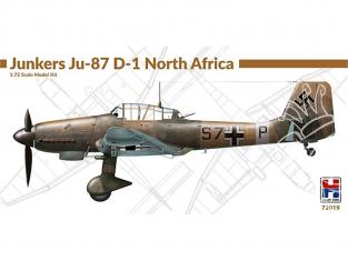 Hobby 2000 maquette avion 72019 Junkers Ju 87 D-1 Afrique du Nord 1/72
