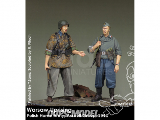 Rado miniatures figurines RDM35018 Insurrection de Varsovie - Polish Home Army - Groupe d'assaut 1944 1/35