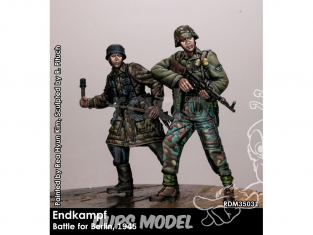 Rado miniatures figurines RDM35031 Combat final - Bataille pour Berlin 1945 1/35