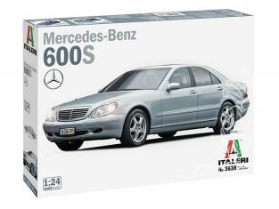 Italeri maquette voiture 3638 Mercedes Benz 600 S 1/24
