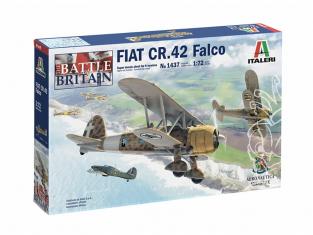 Italeri maquette avion 1437 FIAT CR.42 Falco 1/72