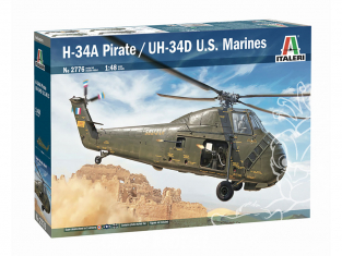 Italeri maquette helicoptere 2776 H-34A Pirate /UH-34D U.S. Marines 1/48