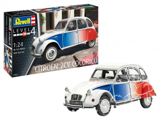 Revell maquette voiture 67653 Model Set Citroën 2 CV Cocorico 1/24