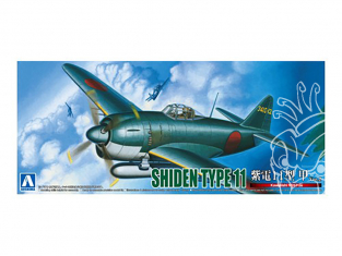 Aoshima maquette avion 51894 Shiden Type 11 Kawanishi N1K1-Ja 1/72