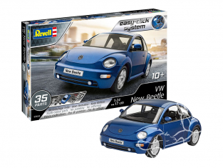Revell maquette voiture 67643 Model Set VW New Beetle Easy-Click system 1/25