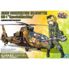 Aoshima maquette hélicoptère 56837 OH-1 JGSDF Helicoptère d'observation Marquage spéciale 1/72