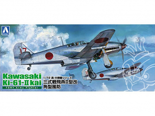 Aoshima maquette avion 22290 Kawasaki Ki-61-II Kai Tony Army Fighter 1/72