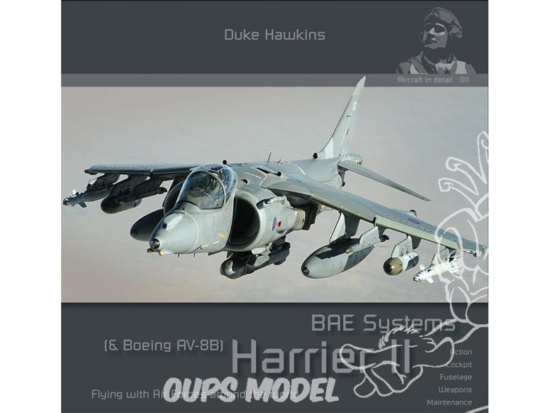 Librairie HMH Publications 011 The Harrier II