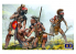 Master Box maquette figurines 35209 Cercle de protection Série Guerres indiennes XVIIIe siècle. Kit n ° 1 1/35