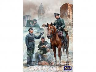 Master Box maquette militaire 35212 Envoi urgent. Hommes militaires allemands WWII 1/35