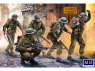 Master Box maquette militaire 3585 Infanterie britannique Europe de l'Ouest. 1944-1945 1/35