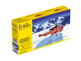 HELLER maquette avion 80289 Alouette III nouvelle boite 1/72