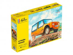 Heller maquette voiture 80760 Citroen Mehari 1/24