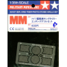 tamiya maquette militaire 35167 jeu de grilles king tiger 1/35