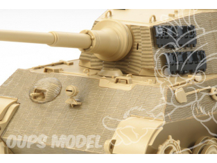 TAMIYA decalques 12648 Stickers Zimmerit King Tiger H. 1/35