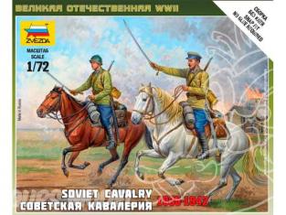 Zvezda maquette plastique 6161 Cavalerie Sovietique 1/72