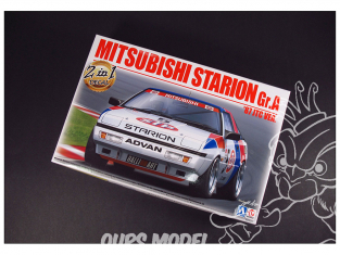 Beemax maquette voiture B24023 MITSUBISHI STARION Gr.A '87 JTC Ver 1/24
