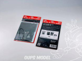 NuNu kit d'amelioration pour maquette de voiture NE24004 pour Racing Series Detail Up Pièces pour Audi R8 LMS GT3 1/24