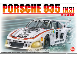 NuNu maquette voiture de Piste PN24006 Racing Series Porsche 935K3 '79 LM WINNER 1/24