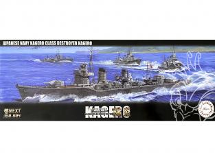 Fujimi maquette bateau 46017 Kagero Destroyer Marine Japonaise 1/350