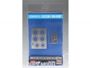 Hasegawa maquette moto 21723 Kit d'ameliorationpour Suzuki RG400 Γ 1/12