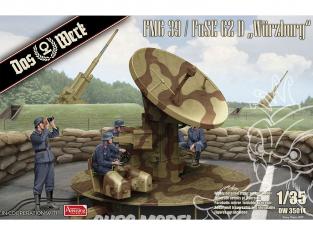 """DAS WERK maquette militaire DW35014 FMG 39 / FuSE 62 D """"Würzburg"""" 1/35"""