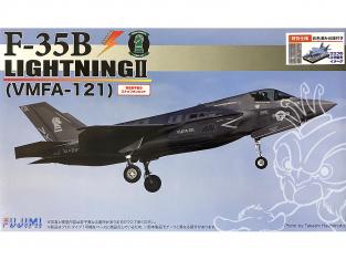 Fujimi maquette avion 723228 F-35B Lightning II VFMA-121 1/72