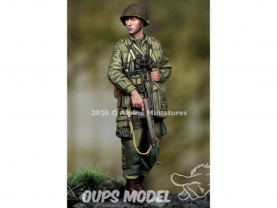 Alpine figurine 35275 US 101st Airborne Officer 1/35