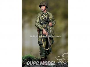 Alpine figurine 35275 US 101st Airborne Officer 1/35