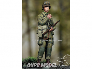 Alpine figurine 35276 US 101st Airborne Trooper n°2 1/35