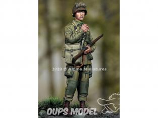 Alpine figurine 35276 US 101st Airborne Trooper n°2 1/35