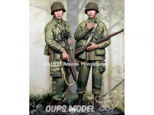 Alpine figurine 35277 US 101st Airborne Set (2 figures) 1/35