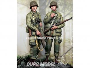 Alpine figurine 35277 US 101st Airborne Set (2 figures) 1/35