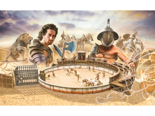 Italeri maquette 6196 COMBAT DE GLADIATEURS Battle set 1/72