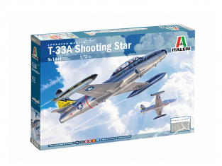 Italeri maquette avion 1444 T-33A SHOOTING STAR 1/72