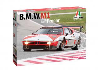 Italeri maquette voiture 3643 B.M.W. M1 Procar 1/24