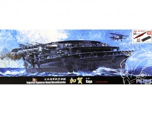 Fujimi maquette bateau 432779 Kaga Porte-avions de la Marine Japonaise Impériale 1/700