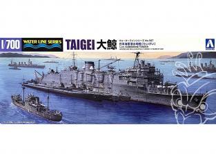 Aoshima maquette bateau 51832 Taigei I.J.N. Submarine Tender Water Line Series 1/700