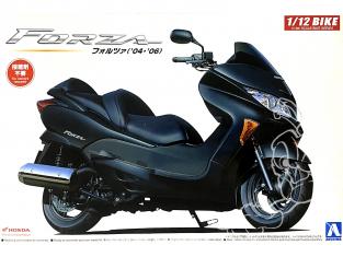 Aoshima maquette moto 54550 Scooter Honda Forza 2004 - 2006 1/12