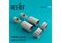 ResKit kit d'amelioration Avion RSU72-0050 Tuyère pour TORNADO pour kit Revell 1/72