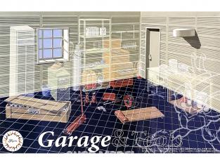Fujimi maquette accessoire voiture 115047 Garage vide 1/24