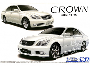 Aoshima maquette voiture 57933 Toyota Crown GRS182 2003 1/24