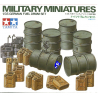 tamiya maquette militaire 35186 Futs et jerricans Allemand 1/35