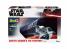 Revell maquette Star Wars 66780 Model set Darth Vaders TIE FIGHTER 1/57