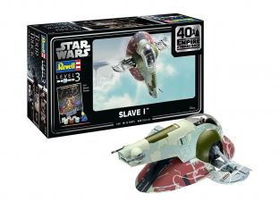 "Revell maquette Star Wars 05678 Slave I-40th Anniversary ""The Empire strikes back"" 1/88"