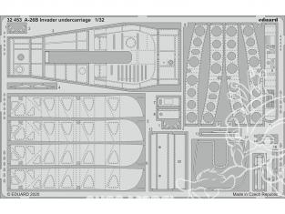 Eduard photodécoupe avion 32453 Undercarriage A-26B Invader Hobby Boss 1/32