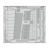 EDUARD photodecoupe avion 481025 Volets d'atterrissage Dornier Do 217J-1/2 Icm 1/48