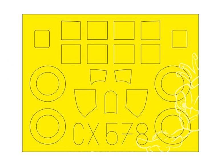 Eduard Express Mask CX578 FM-2 Arma Hobby 1/72